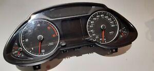 Audi Q5 Instrument Cluster Speedometer 8R0920981 MPH/KMH 2012