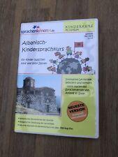 Albanisch Kindersprachkurs + PC CD-ROM + Sprachenlernen24.de + UVP 29,95?