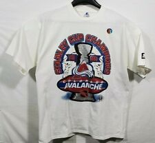 Starter Colorado Avalanche 1996 Stanley Cup Champs Vintage Shirt Sz XL 1996 NWT