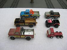 Lot Of 6 Vintage 70's ? Tonka, Buddy L, & Torco Pressed Steel Vehicles
