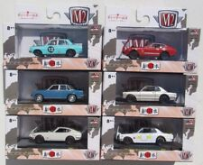 M2 MACHINES AUTO-JAPAN JPN01 COMPLETE SET of 6 CARS FIRST RELEASE 1 NISSAN