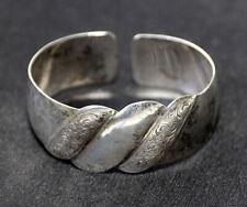 Armreif | .835 Silber | Handgravur