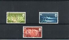 GB 1970 COMMONWEALTH GAMES SG 832 to 834 used