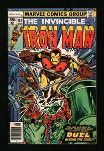 Iron Man (1968) #110 Newsstand Signed Archie Goodwin No COA Cockrum Cover VG