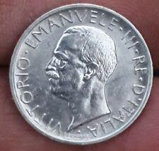 ITALY 1927-R 5 LIRE SILVER COIN