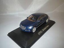 """NOREV  Opel  Insignia  """"Dealer Version""""  (blau-met.)  1:43  OVP !!"""