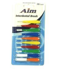 10 Pcs Aim Interdental Brushes Dental Brace Brush Floss Aim / Dr. Fresh