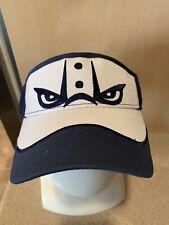 Lehigh Valley Ironpigs Phillies Blue/White Baseball Sun Visor Unworn & Brand New