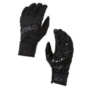 Oakley Neu Herren Fabrik Park Handschuhe Blackout Neu mit Etikett
