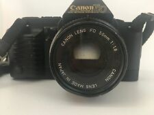 Vintage Canon T-70 35mm FD Mount Single Lens Reflex Film Camera Body Only