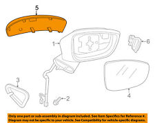 MAZDA OEM 17-18 3 Door Side Rear View-Mirror Cover Cap Trim Left B63B691N751