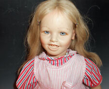 "Vintage Annette Himstadt 28"" Adorable Lisa Vinyl Character Doll"
