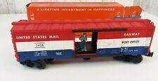 Postwar Lionel # 3428 U.S. Operating Mail Car