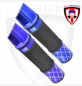 Roadriders' Blue LED Throttle Hand Grip