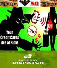 2 X CARD GUARD - SKIM GUARD - SCAN BLOCKER - CREDIT CARD PROTECTION