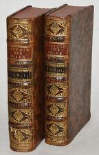 HISTOIRE DES JUIFS ECRITE PAR FLAVIUS JOSEPH + gravures 1715, d'ANDILLY, Judaica