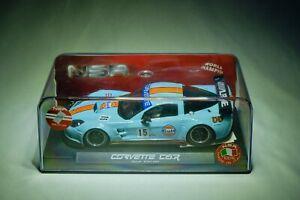 NSR Corvette C6.R No.15 Gulf Edition 132 Slot Car