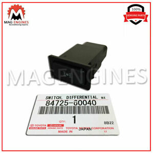 84725-60040 GENUINE OEM CENTER DIFFERENTIAL LOCK SWITCH 8472560040