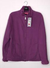 SIZE 18 M&S Womens ACTIVE thermal Fleece Jacket Coat Cerise Colour