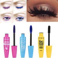 New Long Curling Makeup Eyelash Multicolor Waterproof Fiber Mascara Eye Lashes