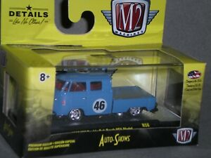 1/64th M2 Machines Auto Shows R56 1960 VW Double Cab Truck USA Model