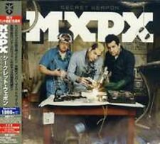MXPX Secret Weapon JAPAN SEALED CD 2 BONUS UNRELEASED