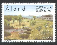 Aland 1999 Europa/Parks/Gardens/Trees/Nature Reserve/Plants 1v (n39654)