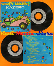 LP 45 7'' KAZERO Woopy machine Ne te figures pas 1987 france BMG cd mc dvd vhs