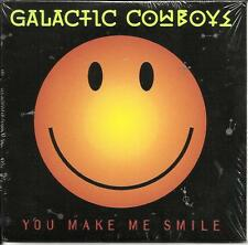 GALACTIC COWBOYS You Make me Smile 1993 w/ RARE EDIT PROMO DJ CD Single SEALED