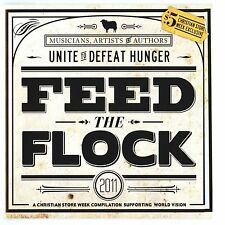 SEALED Feed The Flock Various Musicians Artists Authors Unite for World Hunger