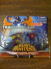 Transformers Beast Hunters Cindersaur Smokescreen Legends NEW FREE SHIP US