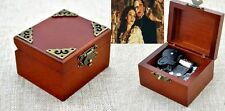 Vintage Classic Square Wind Up Music Box:Phantom of The Opera Music of the night