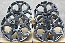 "ALLOY WHEELS 18 INCH 18"" FOX VIPER 4 GUNMETAL GREY 5X160 COMMERCIALLY RATED"