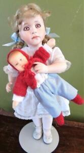 1996 Wendy Lawton KATHERINE & HER KATHE KRUSE Miniature Doll #87/750 Mint No Box