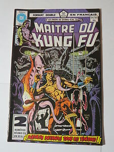MAITRE DU KUNG FU  104  / 105 B&W French comic Heritage Marvel 117  118