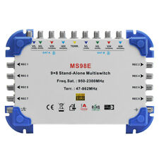 MS98E 9 x 8 Satellite Multiswitch for FTA Receiver