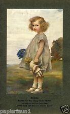Bildnis Mädchen mit Puppe Kunstdruck 1912 Georg Schuster Woldan * 1864 Nimptsch