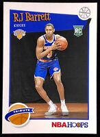 2019-2020 Panini NBA Hoops RJ Barrett Rookie Card Rc Tribute New York Knicks 🔥