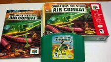 Army Men: Air Combat .. Nintendo 64 N64 .. COMPLETE CIB .. AUTHENTIC game TESTED