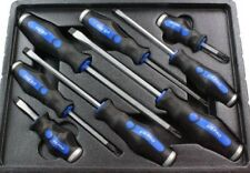US Pro Tools 8pc Go-through Screwdrivers Set Phillips & Slotted 1605