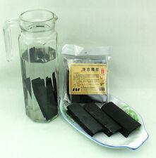 2 pc théière purificateur d'eau bambou charbon fumée odeurs absorption réutilisable sticks