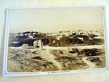 OLD ALBUMEN/CABINET CARD: MARSEILLE~LE CHATEAU D'IF ET LES ÎLES~ca 1870