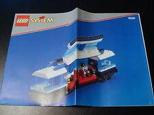 LEGO CITY EISENBAHN - Bauanleitung Waggon aus Eisenbah Set 4560 - NEU