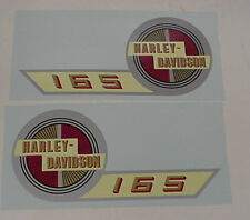 New Harley 1957 ST Harley (Hummer) Gas Tank Decal Set 61770-57