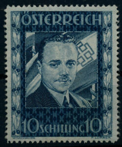 ÖSTERREICH 1936 588 DOLLFUSS, postfrisch ** WH Signum! Kw:1500,-€