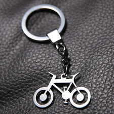bicycle/bike keyring Stainless Steel gift Silver Creative Gift Keychain