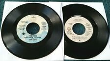 Thin Lizzy 2x Promo 45 lot We Will Be Strong/The Boys Are Back in Town/Jailbreak