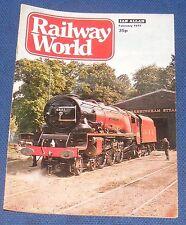 RAILWAY WORLD FEBRUARY 1977 - NORTH EASTERN LOCOMOTIVES