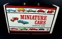 1966 Mattel Miniature Cars Carrying Case with 2 Trays - Hotwheels