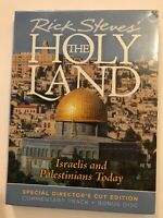 RICK STEVES' THE HOLY LAND Israelis And Palestinians Today  (NEW) DVD